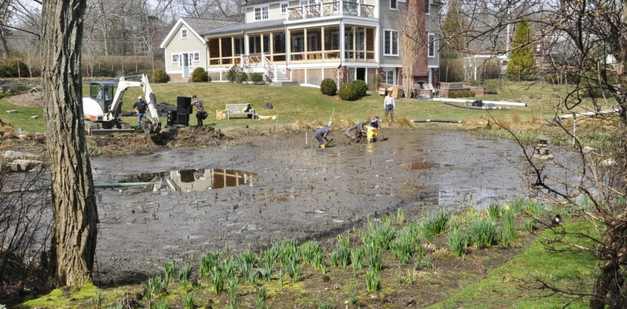 Residential Pond Excavation