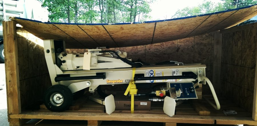 Our new Geoprobe 420M rig